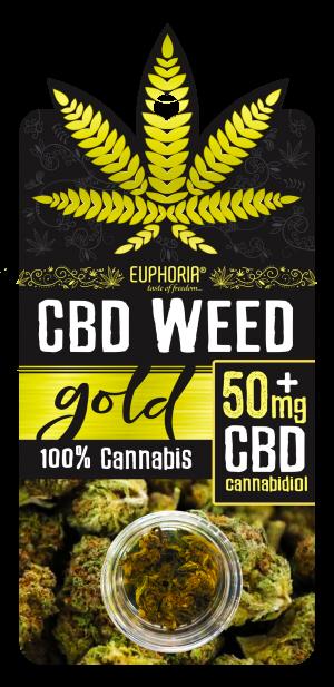 Euphoria CBD Weed 50mg+