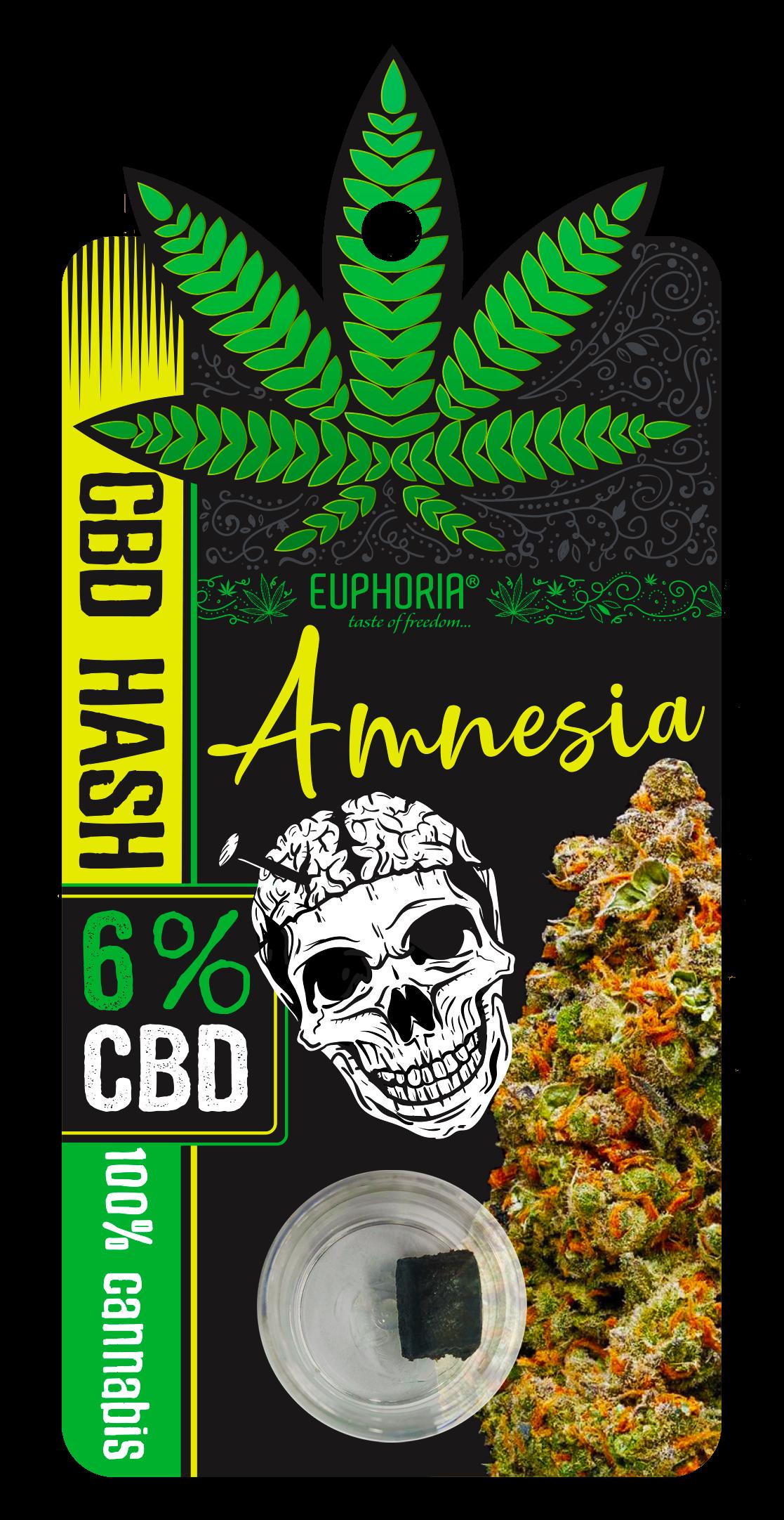 Euphoria CBD Hash Amnesia 6%