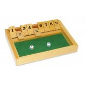 "Shut The Box Wooden Game 8"" x 11"""