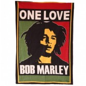 Bob Marley One Love Wall Hanging  3ft x 2ft