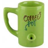 Ceramic Water Pipe Mug - 8oz / Coffee Pot