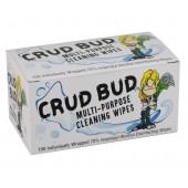 Crud Bud Alcohol Wipes - 100 Packets