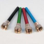 Aluminium Down Tubes Assorted Colours  10cm