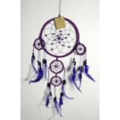 Leather Purple 15cm with 4 circles