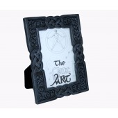 "Celtic Design Frame Grey 3.5"" x 5"""