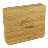 """Grindhouse 2pc Rolling & Storage Tray - 6.25""""x7.25"""" / Bamboo"""