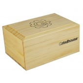 """Grindhouse Sifter Box w/ Rolling Tray - 4""""x5.75"""" / Pine"""