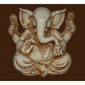 "Ganesh Resin White 11"" x 10"""