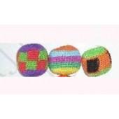 Juggling Balls Cotton Crochet 3 pk