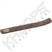 """Incense Holder- Coconut Wood Flower 10"""""""