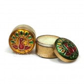Solid Perfume In Brass Tin Assorted 20mm x 15mm